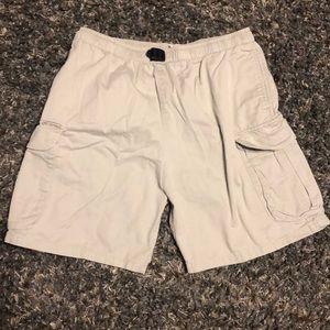 Vintage Columbia khaki outdoor shorts